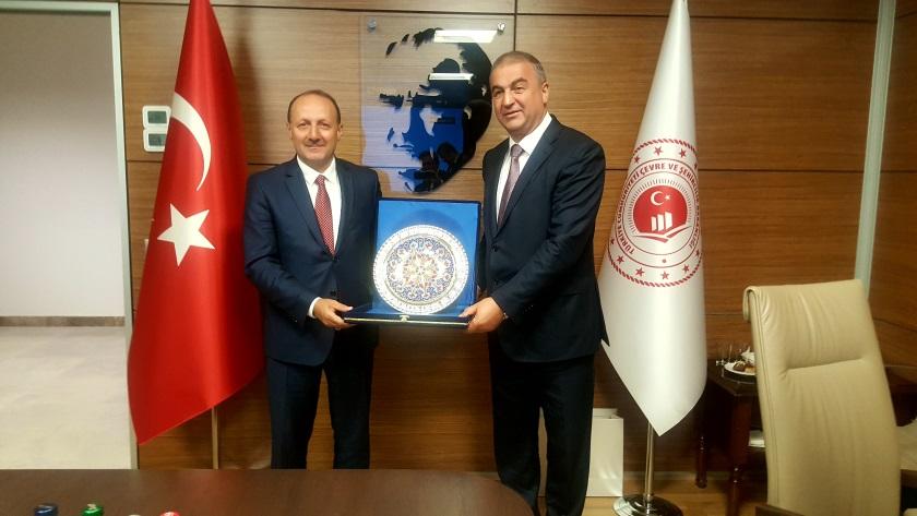 Azerbaycan Cumhuriyeti heyetinin Yüksek Fen Kurulu Başkanlığını ziyareti