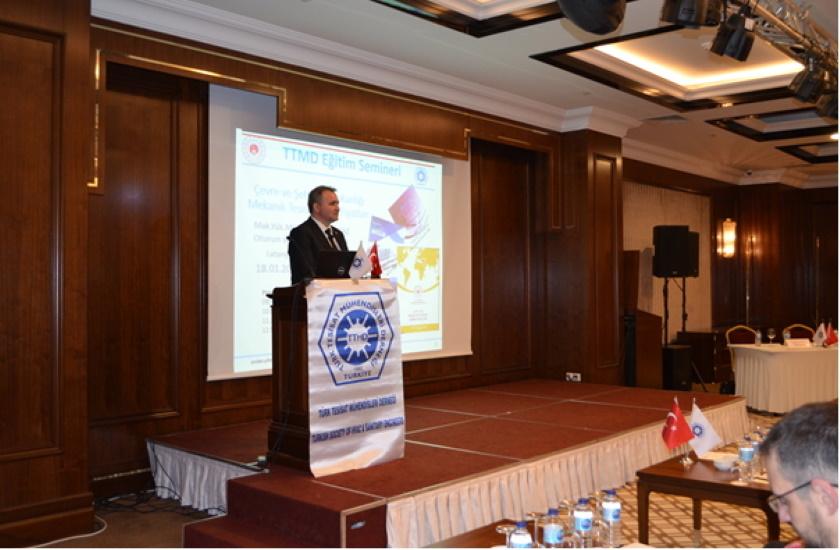 YFK Başkanlığımızca Türk Tesisat Mühendisleri Derneği (TTMD)'ne Mekanik Tesisat Birim Fiyatları Konulu Eğitim Semineri Yapıldı