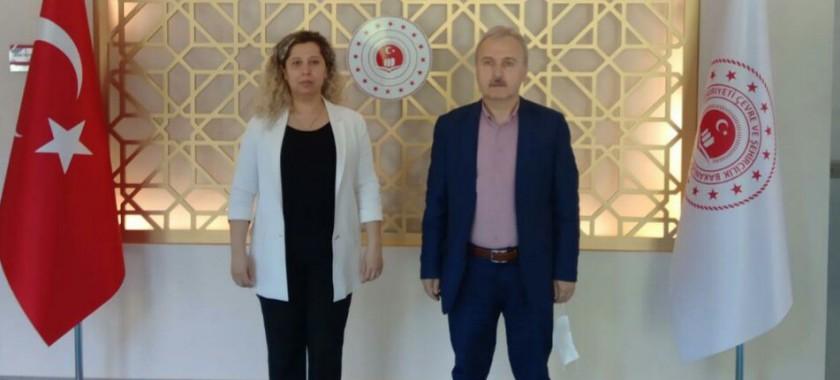 Ak Parti Zonguldak Milletvekili Sayın Hamdi UÇAR İl Müdürlüğümüzü Ziyaret Etti