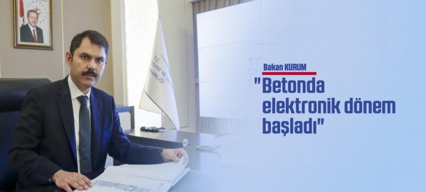 BETONDA ELEKTRONİK DÖNEM BAŞLADI