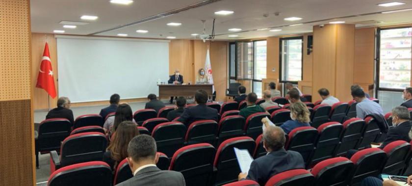Kamu Kurumları Yöneticileri İle Toplantı Gerçekleştirildi.