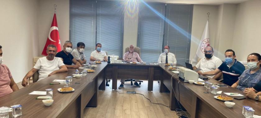 Karabük Tabiat Varlıklarını Koruma Bölge Komsiyonu' nun Toplantısı