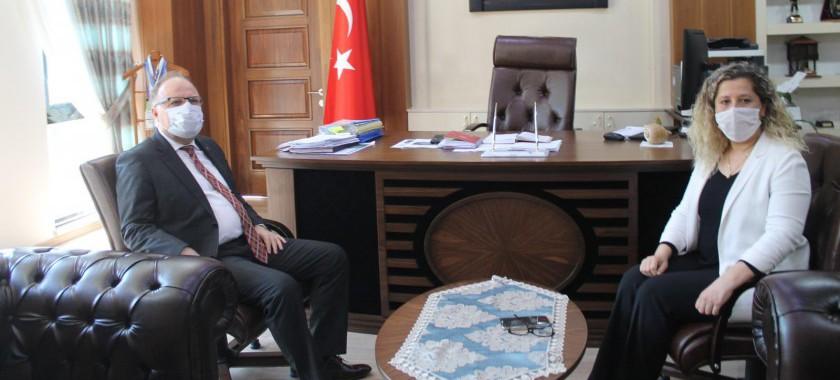 Sayın Valimiz Mustafa TUTULMAZ İl Müdürlüğümüzü Ziyaret Etti