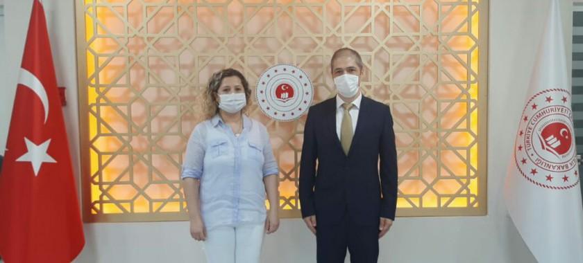 TÜİK Zonguldak Bölge Müdürü Taner YILDIZ Müdürlüğümüzü Ziyaret Etti