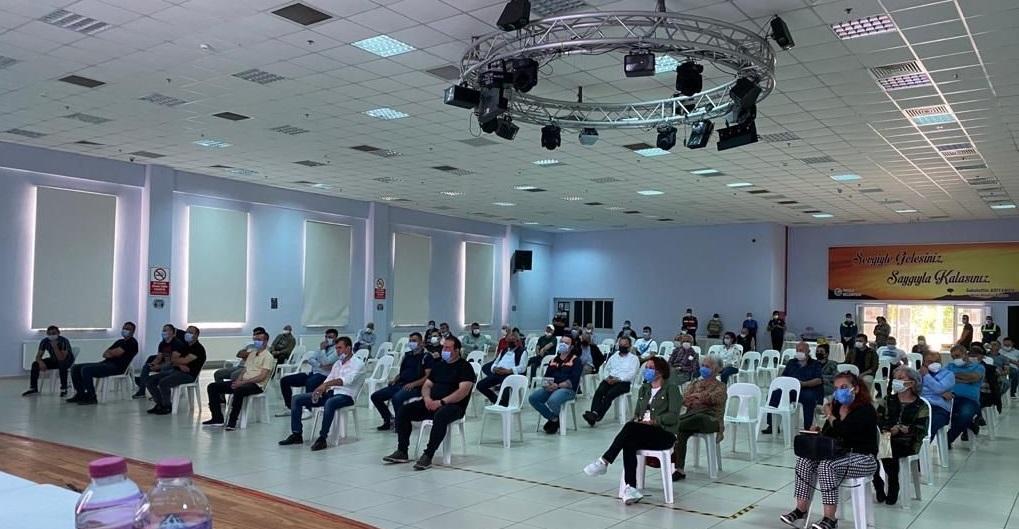 Kağıt Üretim Fabrikası Halkın Katılımı Toplantısı