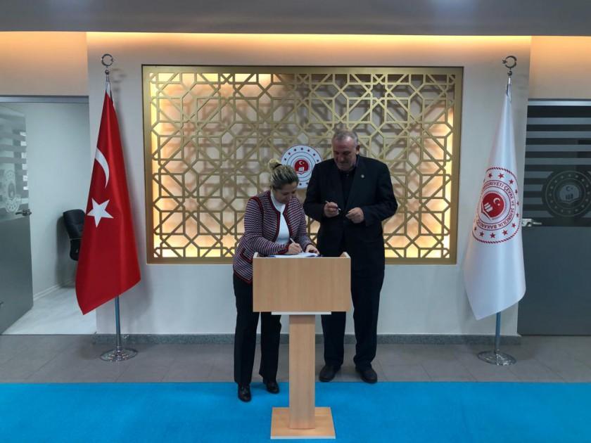 İl Müdürlüğümüz ve Kozlu Belediye Başkanlığı arasında Karadeniz Kıyı Protokolü düzenlenmiştir.